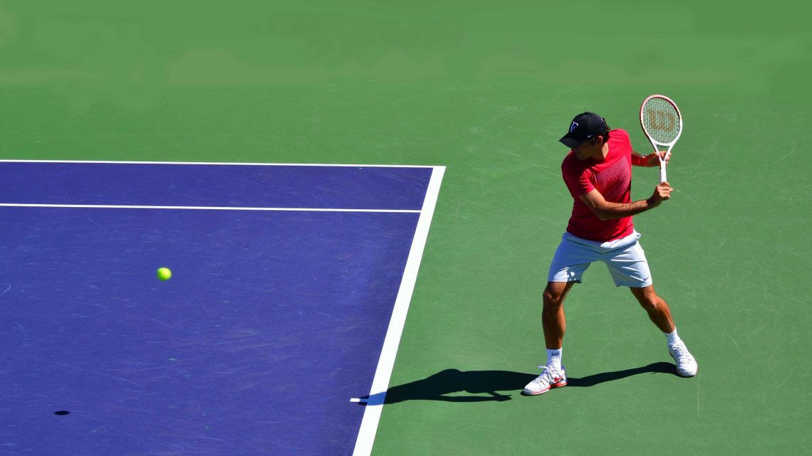 Roger Federer wird im Viertelfinale der Qatar Open von Nikoloz Basilashvili geschlagen